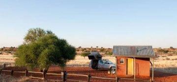 Bagatelle Kalahari Game Ranch Campsite