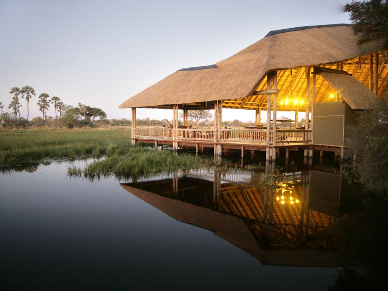 Moremi Crossing, Okavango Delta, Botswana