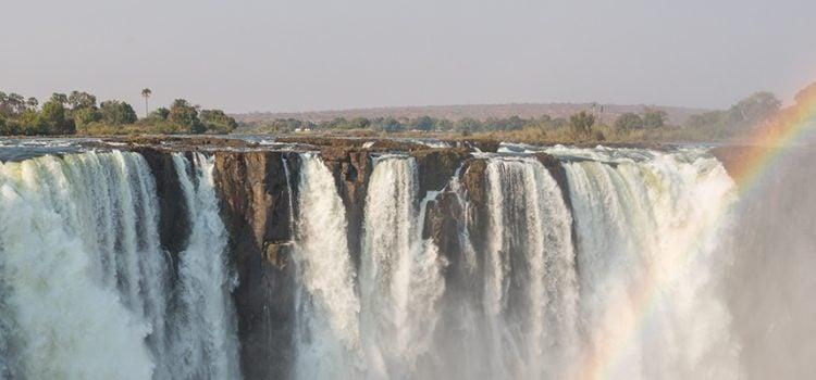 What side of Victoria Falls? Zimbabwe vs Zambia?