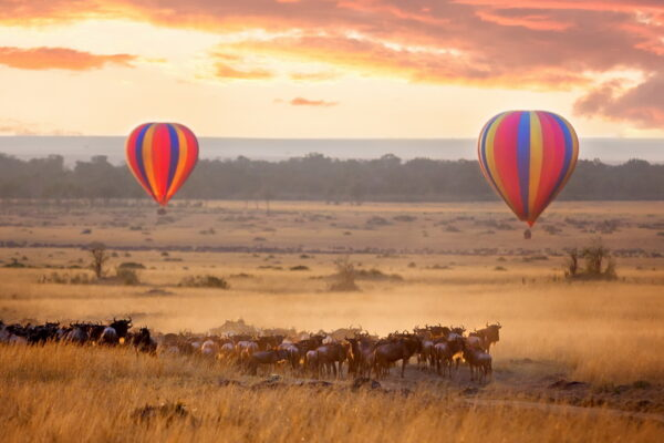 Great places to go on a hot air balloon ride in Africa