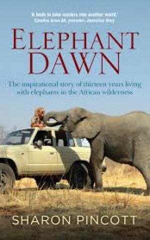 Elephant Dawn, by Sharon Pincott