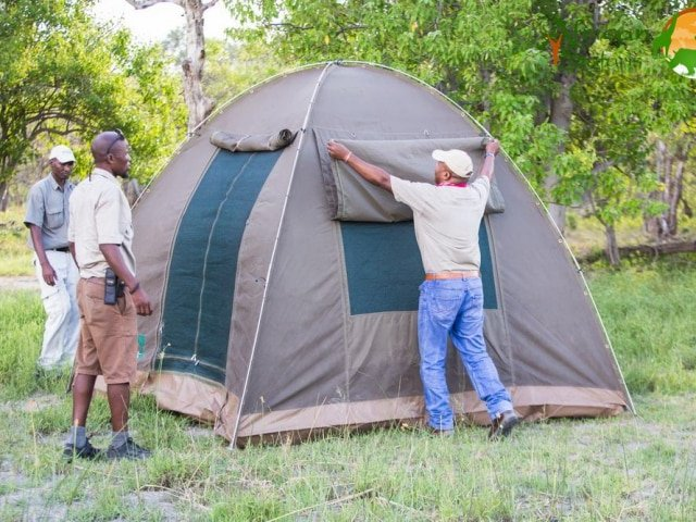 Fully-assisted Camping (non en-suite)