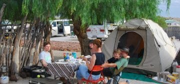 Brandberg White Lady Campsite