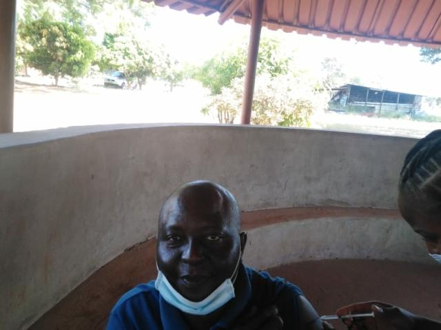 Covid Vaccination rollout in Victoria Falls, Zimbabwe
