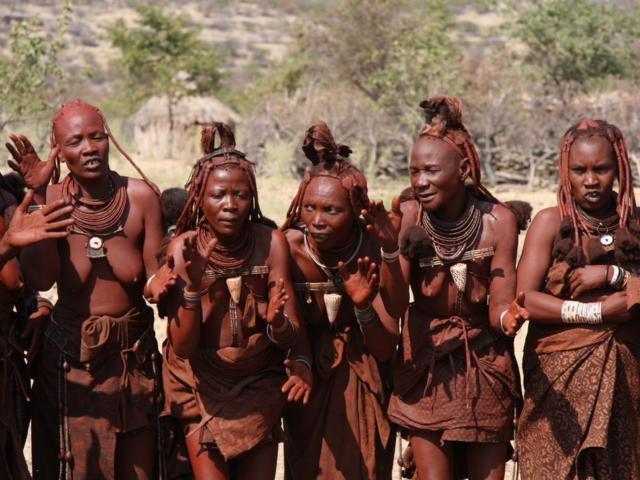 Himba, Damaraland, Namibia