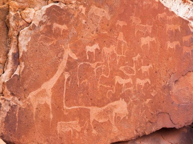 Twyfelfontien Rock Art, Damaraland, Namibia