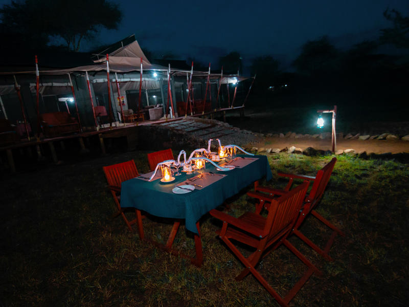 Embalakai Camp, Serengeti National Park, Tanzania
