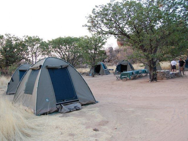 Fully Assisted Camping (non en-suite)