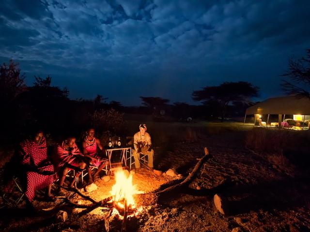 Bush Camp, Ol Kinyei Conservancy, Kenya