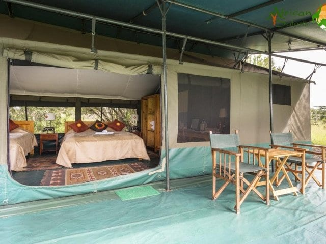 Kenya - Tented Camps on private wildlife conservancies