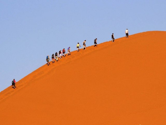 15-day Namib to Falls Adventure