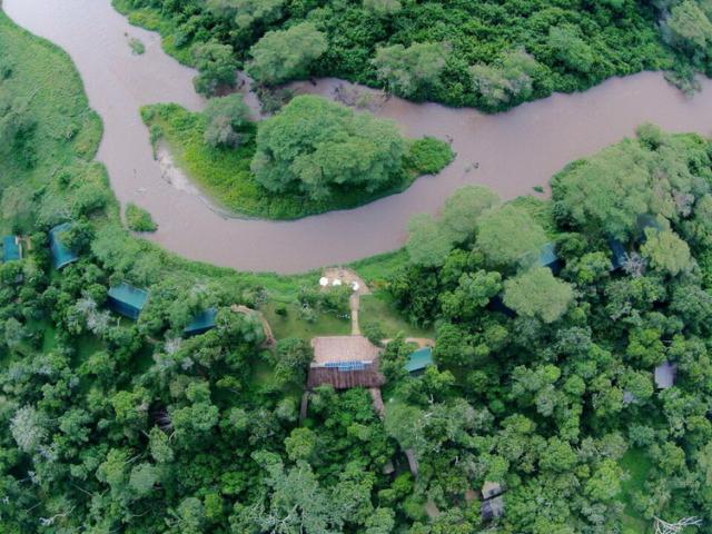 Ishasha Wilderness Camp, Uganda