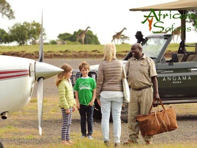 Light-aircraft luggage on an African Safari