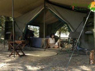 South Luangwa Walking Safari Bush Camp