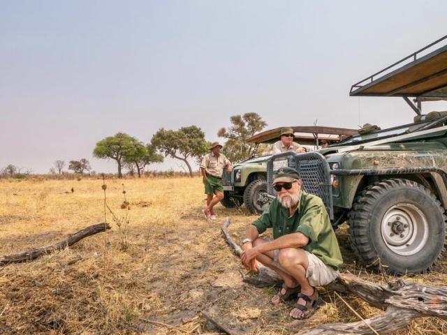 Guiding in Botswana
