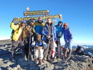 8-day Kilimanjaro - Machame Route (Camping)