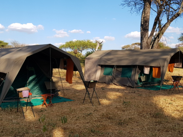 Fully-Serviced Mobile Tenting, Tanzania