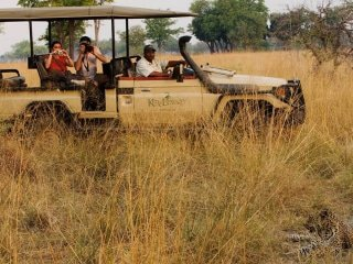 Botswana Safari Vehicle