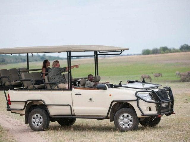 Botswana Safari Vehicle
