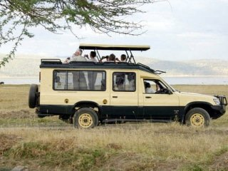 Kenya Safari Vehicle