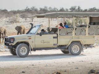Namibia Safari Vehicle