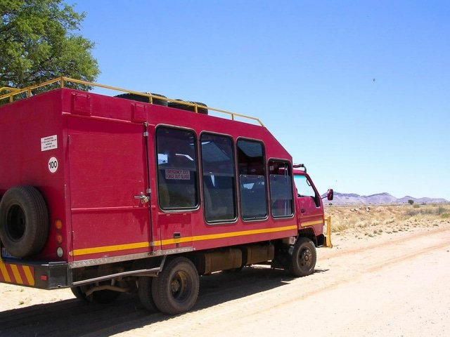 Small Group Tour Vehicle