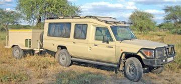 10-day Migration Camping Safari