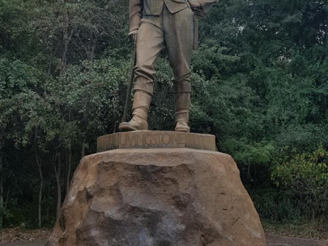 David Livingstone, Victoria Falls, Zimbabwe