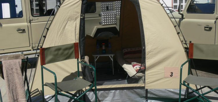 Fully Serviced Mobile Camping –  Palmwag Concession
