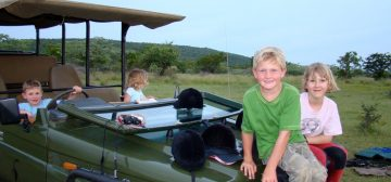 7-day Waterberg Lodge Family Safari
