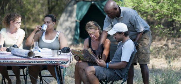 Western Moremi – campsite
