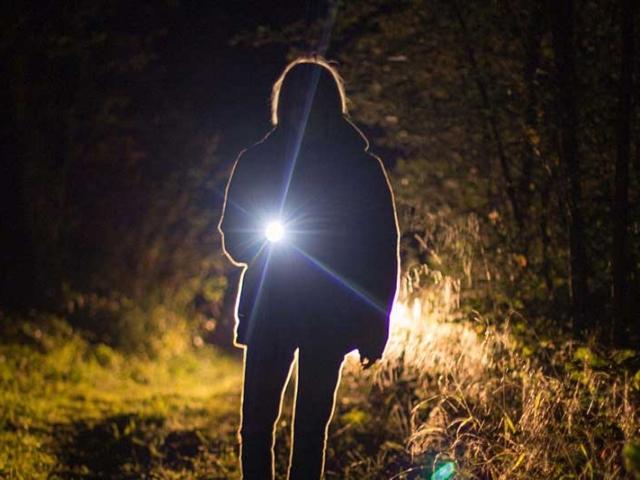 Having a good torch (flashlight) is essential